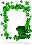 Greeting Cards St Patrick Day vector illustration Stock Photo - Royalty-Free, Artist: rodakm                        , Code: 400-05925696