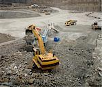 Work in an Pit Mine industry Stock Photo - Royalty-Free, Artist: gemenacom                     , Code: 400-05930615