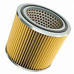 Car engine air filter. 3D render. Stock Photo - Royalty-Free, Artist: spongecake                    , Code: 400-05933141