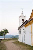 Church on Coast, Paraty, Rio de Janeiro, Brazil Stock Photo - Premium Rights-Managednull, Code: 700-05947870