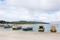 Boats on Beach, Ilha do Mel, Parana, Brazil Stock Photo - Premium Rights-Managednull, Code: 700-05947873