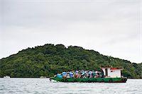 Garbage Barge, Ilha do Mel, Parana, Brazil Stock Photo - Premium Rights-Managednull, Code: 700-05947883