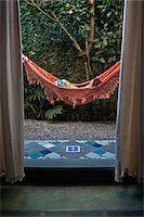 Woman in Hammock, Paraty, Rio de Janeiro, Brazil Stock Photo - Premium Rights-Managednull, Code: 700-05947884