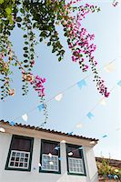 Low-Angle View of Home, Paraty, Rio de Janeiro, Brazil Stock Photo - Premium Rights-Managednull, Code: 700-05947895