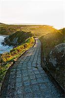 Scenic View of Hills along Walkway, Ilha do Mel, Parana, Brazil Stock Photo - Premium Royalty-Freenull, Code: 600-05947912