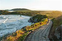 Scenic View of Hills along Walkway, Ilha do Mel, Parana, Brazil Stock Photo - Premium Royalty-Freenull, Code: 600-05947914