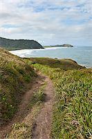 Pathway along Coastal Hills, Ilha do Mel, Parana, Brazil Stock Photo - Premium Royalty-Freenull, Code: 600-05947929