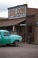 saloon - Saloon and Pickup Truck, Goldfield, Nevada, USA Stock Photo - Premium Rights-Managednull, Code: 700-05948222