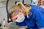 Veterinarian at Work Stock Photo - Premium Rights-Managed, Artist: ableimages, Code: 822-05948384