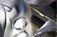 expensive jewelry - Close up of modern engagement ring Stock Photo - Premium Royalty-Freenull, Code: 649-05950495