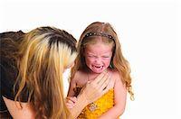sad girls - Mother comforting crying girl Stock Photo - Premium Royalty-Freenull, Code: 649-05950650
