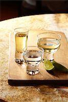 Glasses of Tequila Stock Photo - Premium Royalty-Freenull, Code: 6106-05951540