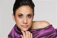 Beauty portrait of hispanic woman. Stock Photo - Premium Royalty-Freenull, Code: 6106-05951961