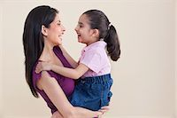 Mother and daughter Stock Photo - Premium Royalty-Freenull, Code: 614-05955362