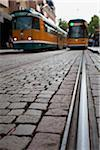 Trams Stock Photo - Premium Royalty-Free, Artist: SuperStock               , Code: 698-05957533