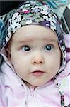 Close-up of baby (12-17 months) looking away Stock Photo - Premium Royalty-Free, Artist: I. Jonsson, Code: 698-05958205