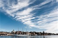 stockholm - Harbor of Skeppsholmen island Stock Photo - Premium Royalty-Freenull, Code: 698-05959117