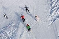 Downhill ski slope Stock Photo - Premium Royalty-Freenull, Code: 698-05959283