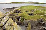 Jarlshof has evidence of human habitation over more then 3000 years, Sumburgh, Shetland, Shetland Islands, Scotland, United Kingdom, Europe Stock Photo - Premium Rights-Managed, Artist: Robert Harding Images, Code: 841-05959638