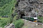 Flam Railway, Flam, Sogn og Fjordane, Norway, Scandinavia, Europe Stock Photo - Premium Rights-Managed, Artist: Robert Harding Images, Code: 841-05960161