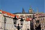Lesser Town and Prague Castle, UNESCO World Heritage Site, Prague, Czech Republic, Europe Stock Photo - Premium Rights-Managed, Artist: Robert Harding Images, Code: 841-05960253