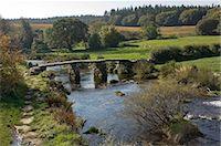 dartmoor national park - The Clapper Bridge at Postbridge, Dartmoor National Park, Devon, England, United Kingdom, Europe Stock Photo - Premium Rights-Managednull, Code: 841-05960800