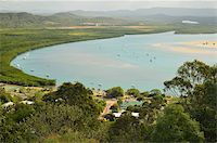 queensland - View of Cooktown and Endeavour River, Queensland, Australia, Pacific Stock Photo - Premium Rights-Managednull, Code: 841-05960834