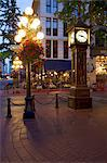 The Steam Clock, Water Street, Gastown, Vancouver, British Columbia, Canada, North America Stock Photo - Premium Rights-Managed, Artist: Robert Harding Images, Code: 841-05961697