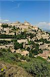 The hilltop village of Gordes designated Les Plus Beaux Villages de France, Vaucluse, Provence, France, Europe Stock Photo - Premium Rights-Managed, Artist: Robert Harding Images, Code: 841-05961860