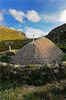 Bosta Iron Age House, Great Bernera Iron Age Village, Isle of Lewis, Western Isles, Scotland, United Kingdom, Europe Stock Photo - Premium Rights-Managednull, Code: 841-05961881