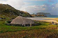 Bosta Iron Age House, Great Bernera Iron Age Village, Isle of Lewis, Western Isles, Scotland, United Kingdom, Europe Stock Photo - Premium Rights-Managednull, Code: 841-05961882
