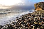 Waves breaking on the rocky foreshore at Elgol, Isle of Skye, Inner Hebrides, Scotland, United Kingdom, Europe Stock Photo - Premium Rights-Managed, Artist: Robert Harding Images, Code: 841-05961889