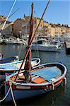 Fishing boats in Vieux Port harbour, St. Tropez, Var, Provence, Cote d'Azur, France, Mediterranean, Europe Stock Photo - Premium Rights-Managed, Artist: Robert Harding Images, Code: 841-05961902
