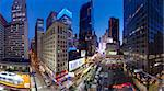 Broadway looking towards Times Square, Manhattan, New York City, New York, United States of America, North America Stock Photo - Premium Rights-Managed, Artist: Robert Harding Images, Code: 841-05961933