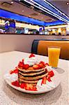 Pancakes, Mid Town Manhattan Diner, New York, United States of America, North America Stock Photo - Premium Rights-Managed, Artist: Robert Harding Images, Code: 841-05961939