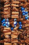 Cinnamon sticks and evil eye souvenirs, Istanbul, Turkey, Europe Stock Photo - Premium Rights-Managed, Artist: Robert Harding Images, Code: 841-05961969