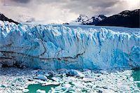 perito moreno glacier - Spectacular Perito Moreno glacier, situated within Los Glaciares National Park, UNESCO World Heritage Site, Patagonia, Argentina, South America Stock Photo - Premium Rights-Managednull, Code: 841-05962389