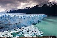 perito moreno glacier - Spectacular Perito Moreno glacier, situated within Los Glaciares National Park, UNESCO World Heritage Site, Patagonia, Argentina. Stock Photo - Premium Rights-Managednull, Code: 841-05962390