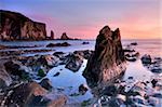 Jagged rocks and cliffs around Bantham in South Devon, England, United Kingdom, Europe Stock Photo - Premium Rights-Managed, Artist: Robert Harding Images, Code: 841-05962474