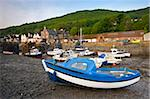 Low tide at Porlock Weir in Exmoor National Park, Somerset, England, United Kingdom, Europe Stock Photo - Premium Rights-Managed, Artist: Robert Harding Images, Code: 841-05962575