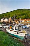 Low tide at Porlock Weir in Exmoor National Park, Somerset, England, United Kingdom, Europe Stock Photo - Premium Rights-Managed, Artist: Robert Harding Images, Code: 841-05962578