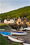 Low tide at Porlock Weir in Exmoor National Park, Somerset, England, United Kingdom, Europe Stock Photo - Premium Rights-Managed, Artist: Robert Harding Images, Code: 841-05962580