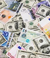 Banknotes Stock Photo - Premium Royalty-Freenull, Code: 618-05963029