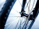 Close up of bicycle wheel Stock Photo - Premium Royalty-Free, Artist: Darryl Leniuk, Code: 635-05972683