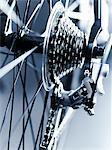 Close up of bicycle gears Stock Photo - Premium Royalty-Free, Artist: Blend Images, Code: 635-05972690