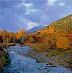 Rocky river and autumn trees in rural landscape Stock Photo - Premium Royalty-Free, Artist: Scanpix Creative         , Code: 635-05972770