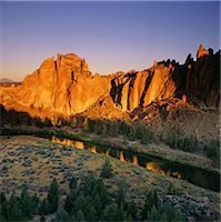streams scenic nobody - Rock formations and river in rural landscape Stock Photo - Premium Royalty-Freenull, Code: 635-05972828