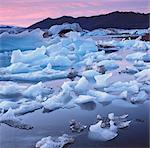 Glaciers floating on arctic waters Stock Photo - Premium Royalty-Free, Artist: AlaskaStock, Code: 635-05972830