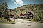 Residential Neighbourhood, Aspen, Colorado, USA Stock Photo - Premium Rights-Managed, Artist: Mark Peter Drolet, Code: 700-05972987