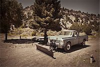 snow plow truck - Pickup Truck with Plow, Mount Carmel Junction, Utah, USA Stock Photo - Premium Rights-Managednull, Code: 700-05972991